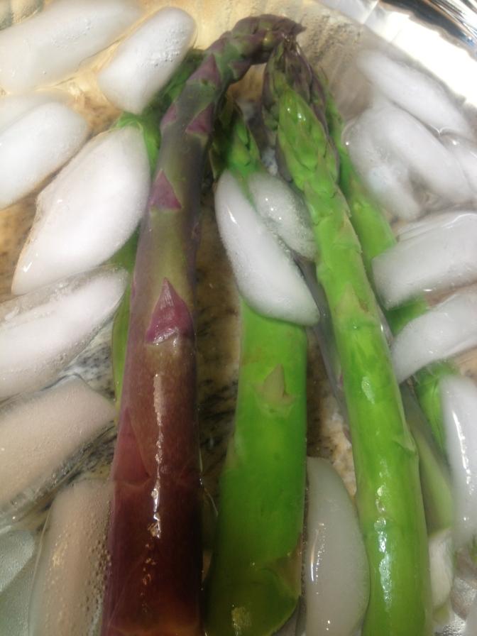 Freaking fantastic sous vide asparagus